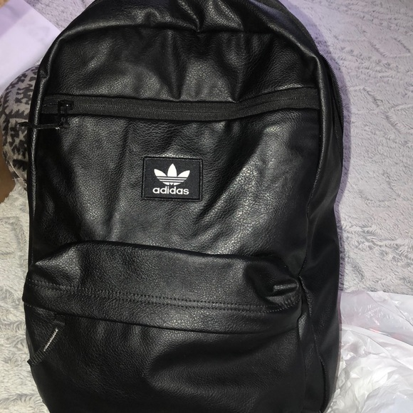 af151ce5452 adidas Bags   Leather Backpack   Poshmark